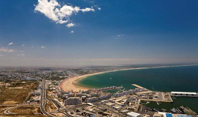 Vliegtijd Agadir