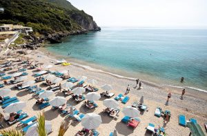 Vliegtijd Corfu