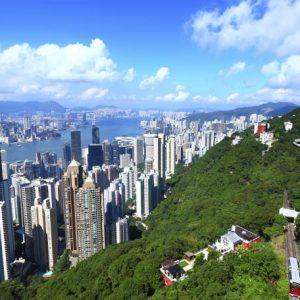 Vliegtijd Hong Kong