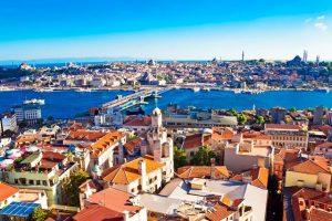 Vliegtijd Istanbul