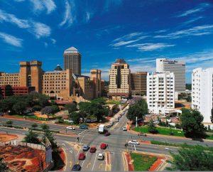 Vliegtijd Johannesburg