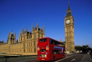 Vliegtijd Londen
