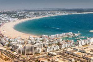 Vliegtijd Marokko