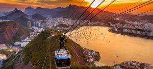 Vliegtijd Rio de Janeiro