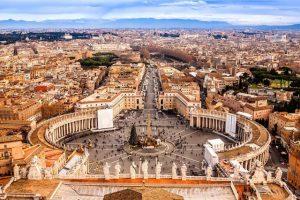Vliegtijd Rome