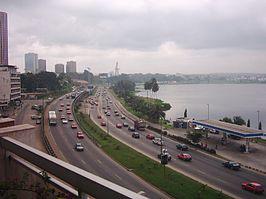 Vliegtijd Abidjan