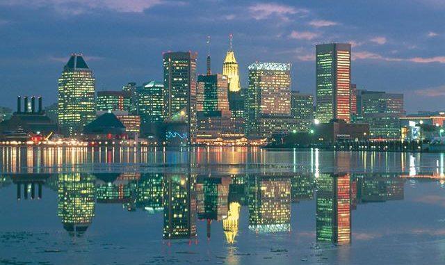 Vliegtijd Baltimore