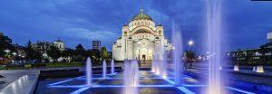 Vliegtijd Belgrado