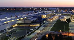 Vliegtijd Detroit