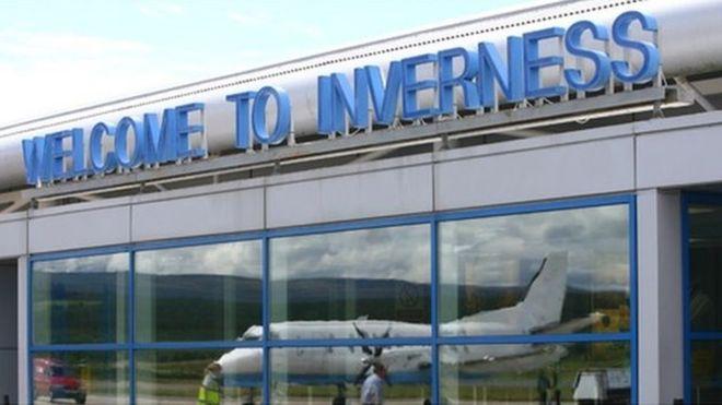 Vliegtijd Inverness