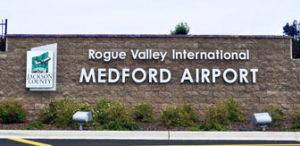 Vliegtijd Medford