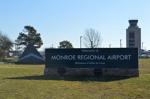 Vliegtijd Monroe