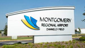 Vliegtijd Montgomery