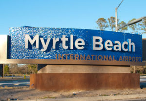 Vliegtijd Myrtle Beach