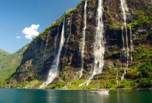 Vliegtijd Noorwegen