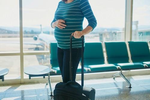 Vliegen als je zwanger bent