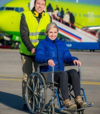Vliegen met een rolstoel