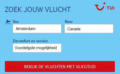 Vliegtickets-Canada