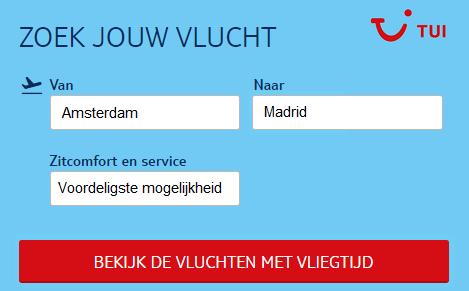 Vliegtickets-Madrid