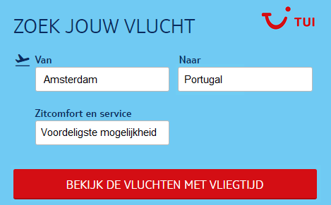 Vliegtickets-Portugal